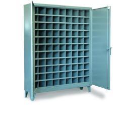 ST-56-1610-99OP - Image-1 - 60x16x72 Metal Bin Cabinet, 99 Bin Openings