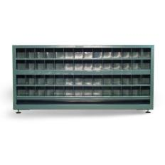 ST-7.13.3-248-112OP - Image-1 - 85x24x39 Counter High 2-Sided Bin Storage