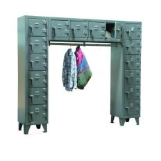 ST-7.56-16D-WR-180 - Image-1 - 90x18x72 Free-Standing Compartment Locker