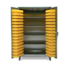 ST-46-BS-244-SS - Image-1 - 48x24x72 4-Shelf Bin Cabinet