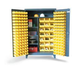 ST-46-BSCW-241-3WLR - Image-1 - 48x24x72 Bin Cabinet, Wardrobe Storage