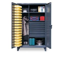 ST-46-WBD-243-7DBLD - Image-1 - 48x24x72 Bin, Drawers,Wardrobe Cabinet