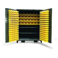 ST-56-BBS-362FLP - Image-1 - 60x36x72 Wide Bin Cabinet, Shelves