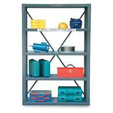 ST-1848-72 - Image-1 - 48x18x72 Open Shelving Unit
