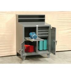 ST-34-DS-280-4DB-1SOS - Image-1 - 36x28x42 Shop Desk Combo