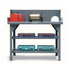 ST-T4830S/SG - Image-1 - 48x30x34 Shop Table, Shelves