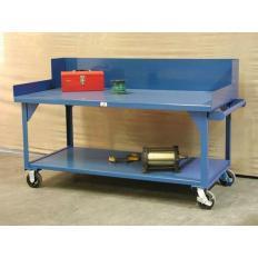 ST-T7236SG-CA - Image-1 - 72x36x34 Mobile Shop Table