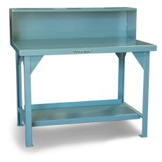 ST-T7236RS - Image-1 - 72x36x34 Shop Table, Back Shelf