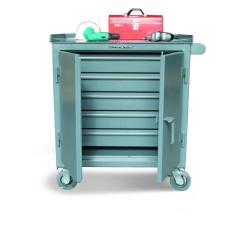 ST-3-TC-240-5DB - Image-1 - 36x24x36 5-Drawer Full-Width Tool Cart