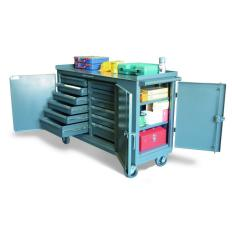 ST-5-TC-3D-242-12/5DB - Image-1 - 61x25x34 Multiple-Purpose Maintenance Cart