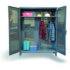ST-46-VBS-241WR - Image-1 - 48x24x72 Vented Wardrobe Cabinet, Hanger Rod