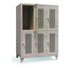 ST-4.76-34-V-2TPL - Image-1 - 54x34x72 Ventilated 2-Tier Personal Locker