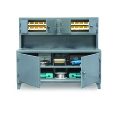ST-95-UC-301 - Image-1 - 108x30x56 Cabinet Workstation, Compartments