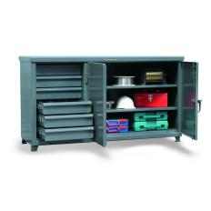 ST-63-242-6/5DB - Image-1 - 73x25x38 Cabinet Workbench, Drawers
