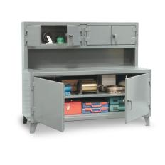 ST-75-UC-301 - Image-1 - 84x30x56 Cabinet Workstation, Compartments