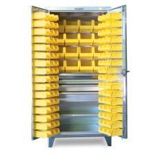 ST-36-BBS-241-4DB-SS - Image-1 - 36x24x72 4-Drawer Bin Cabinet