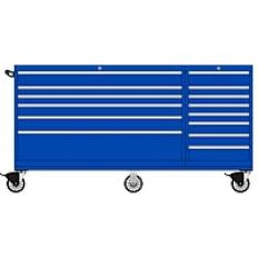 TSDWMP750-1401 - Image-1 - DWMP750 14 Drawer Two-Bay Toolbox