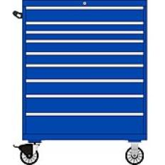 TSHW1050-0906 - Image-1 - HW1050 9 Drawer Single Bank Toolbox