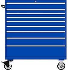 TSMS1050-0907 - Image-1 - MS1050 9 Drawer Single Bank Toolbox