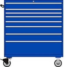 TSMW1050-0801 - Image-1 - MW1050 8 Drawer Single Bank Toolbox