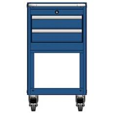 MSCA2/31-NS220 - Image-1 - NS31 2 Drawer Mobile Cart