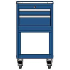 MSCA2/31-NS221 - Image-1 - NS31 2 Drawer Mobile Cart