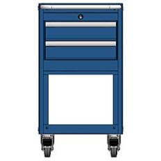 MSCA2/35-NS320 - Image-1 - NS35 2 Drawer Mobile Cart