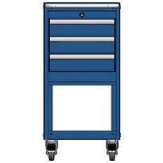 MSCA2/35-NS330 - Image-1 - NS35 3 Drawer Mobile Cart