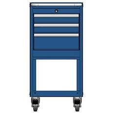 MSCA2/35-NS331 - Image-1 - NS35 3 Drawer Mobile Cart