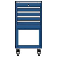 MSCA2/35-NS340 - Image-1 - NS35 4 Drawer Mobile Cart