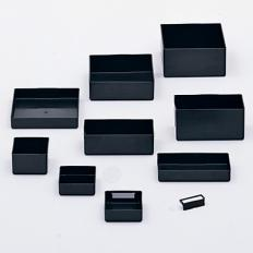PB-9AS - Image-1 - 6x6x3 Plastic Parts Box, Anti Static