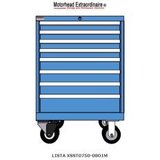 XSST0750-0801M ST750 8-Drawer Mobile Cabinet, Image 6991.jpg