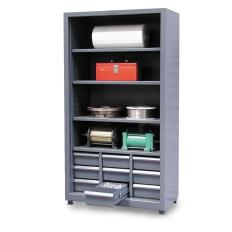 ST-3.46-CSU-204-9DBWL - Image-1 - 40x20x72 Combination Shelves, Drawers