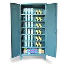 ST-36-246PH/42VD - Image-1 - 36x24x72 Multi-Divider Bin Cabinet