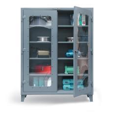 ST-56-LD-244 - Image-1 - 60x24x72 See-Thru Door Cabinet