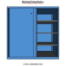XSDWSD1350 DW1350 Sliding Door Shelf Cabinet, Image-7565