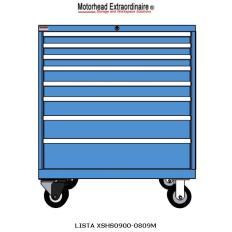 XSHS0900-0809M HS900 8-Drawer Mobile Cabinet, Image 7573.jpg