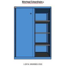 XSHSSD1350 HS1350 Sliding Door Shelf Cabinet, Image-7581