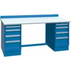 XSTB64-60SD 60x30 Bench,2 Cab,8 Drawer,ESD Top, Image-7641