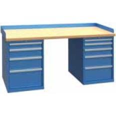 XSWB102-72BT 72x30 Workbench,1 Cab,9 Drawer,Wood Top, Image-7665