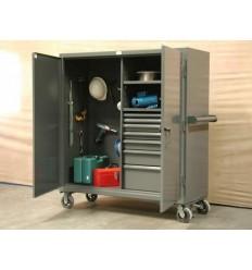 ST-55-242-7/5DB-FLP 60x24x60 Drawer Mobile Job Storage, Image-8667