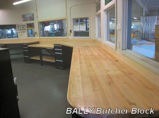 BALLY Butcher Block Wood Tops