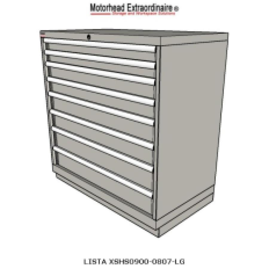 Lista counter height cabinets xshs0900 0807 for Cabinet height