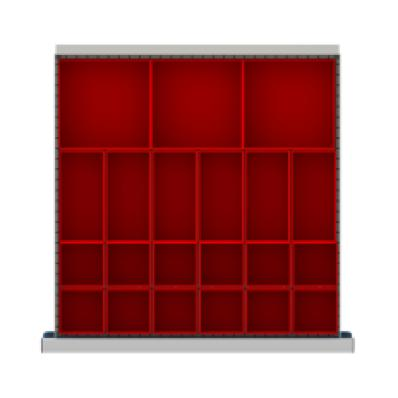 LISTA CLDR021-75 - www.AmericanWorkspace.com/167-cl-2-inch-drawer-kits