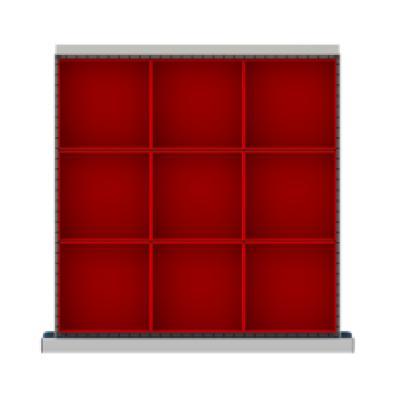LISTA CLDR009-75 - www.AmericanWorkspace.com/167-cl-2-inch-drawer-kits