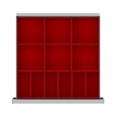 LISTA CLDR012-75 - www.AmericanWorkspace.com/167-cl-2-inch-drawer-kits