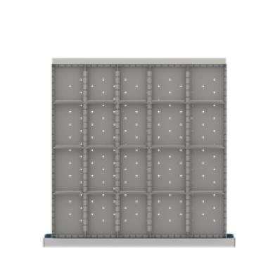 LISTA CLDR420-100 - www.AmericanWorkspace.com/168-cl-3-inch-drawer-kits