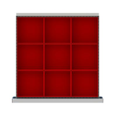 LISTA CLDR009-100 - www.AmericanWorkspace.com/168-cl-3-inch-drawer-kits