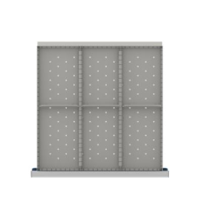 LISTA CLDR206-200 - www.AmericanWorkspace.com/170-cl-7-inch-drawer-kits