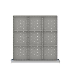 LISTA CLDR209-200 - www.AmericanWorkspace.com/170-cl-7-inch-drawer-kits